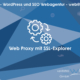 web updates kmu GmbH-wuk-WordPress und SEO Agentur Web Proxy mit SSL Explorer