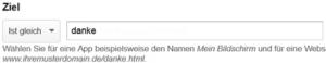 Ziel, Web updates kmu GmbH, wuk.ch, Webagentur für WordPress und SEO Optimierung Ihrer Webseite