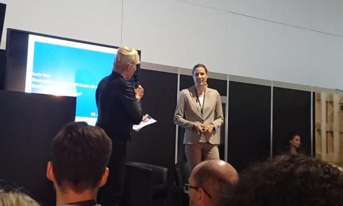 Lucia Yapi mit Martina Dalla Veccia