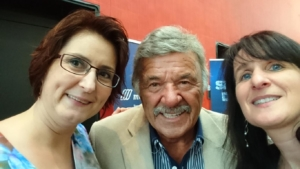 Super Selfie mit Sonja-Hausi-Helene KMU SWISS