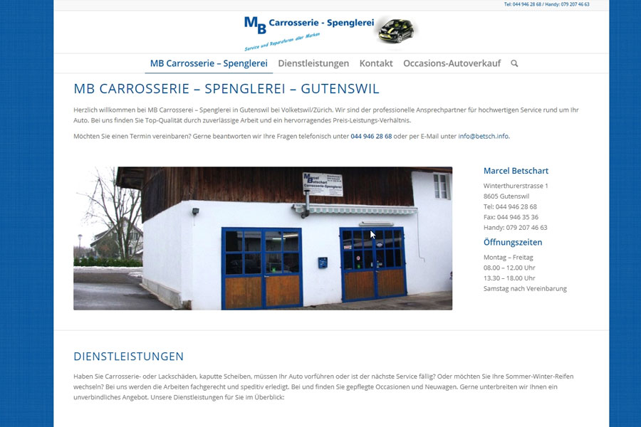 web-updates-kmu-gmbh-wuk-ch-kundenprojekte-mb-carrosserie-spenglereii