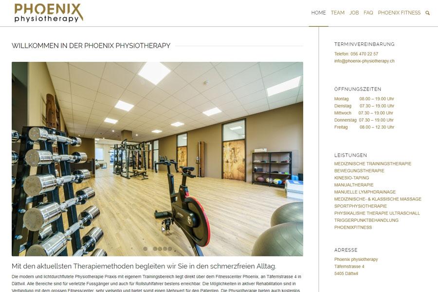 web-updates-kmu-gmbh-wuk-ch-kundenprojekte-phoenix-physiotherapy