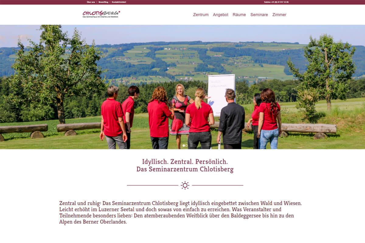 web updates kmu GmbH-wuk-WordPress und SEO Agentur - Relaunch Chlotisberg