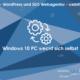 web updates kmu GmbH-wuk-WordPress und SEO Agentur Windows 10 PC weckt sich selbst
