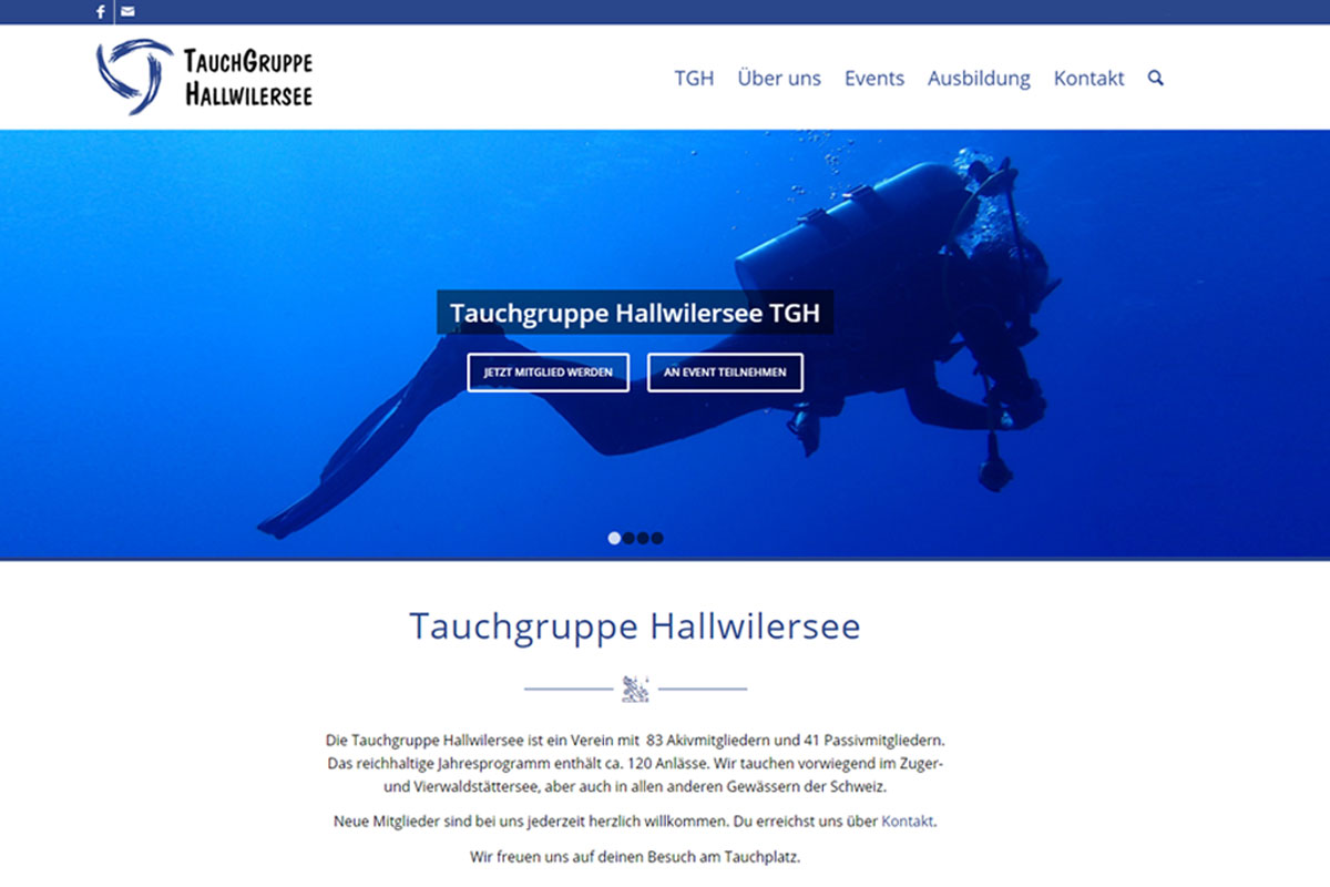 web_updates_kmu_webagentur_Relaunch-Tauchgruppe-Hallwilersee-TGH_1