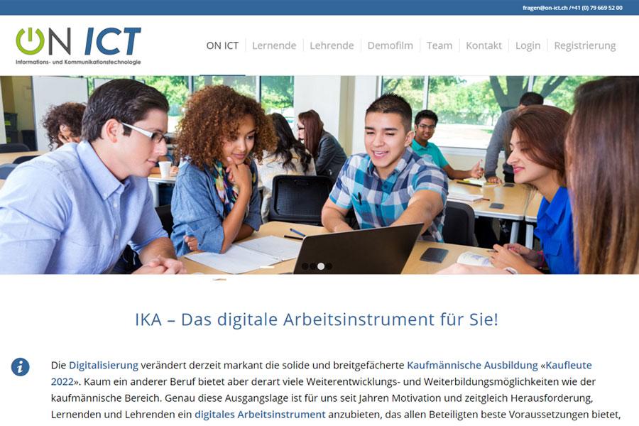 web updates kmu GmbH-wuk-WordPress und SEO Agentur - neue Webseite ON-ICT