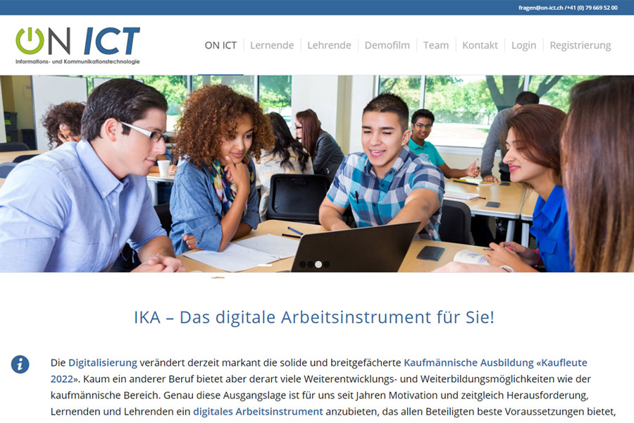 web_updates_kmu_webagentur_neue_Website_ON_ICT